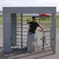 Combined Pedestrian & Cycle Turnstile EAG58481-200
